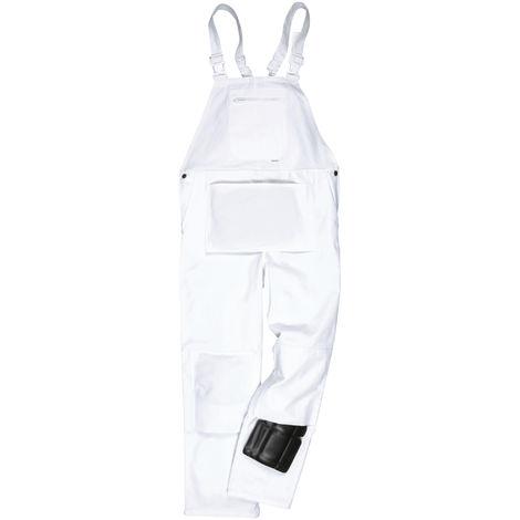 Portwest - Salopette de peintre (2XL) (Blanc)