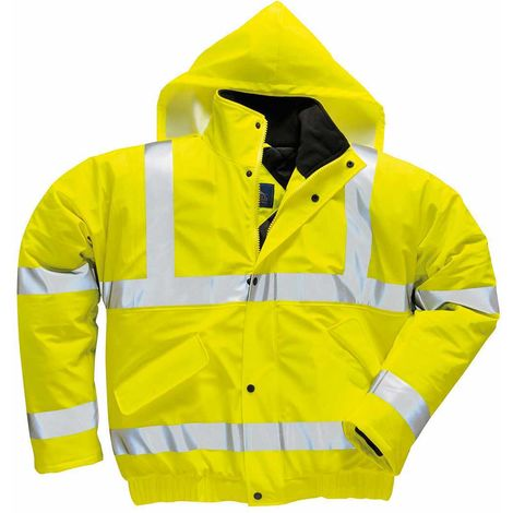 Portwest - Sealtex Ultra Hi-Vis Safety Workwear Bomber Style Jacket