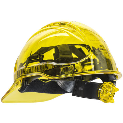Portwest - Site Safety Workwear Peak View Ratchet Hard Hat Non Vented