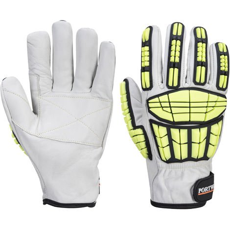 Portwest - Supergrip Impact HR Cut Resist Glove One Pair Pack