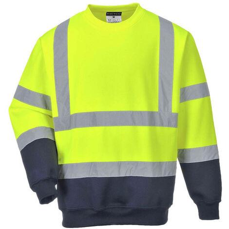 Portwest - Sweatshirt bicolore HV Portwest - B306