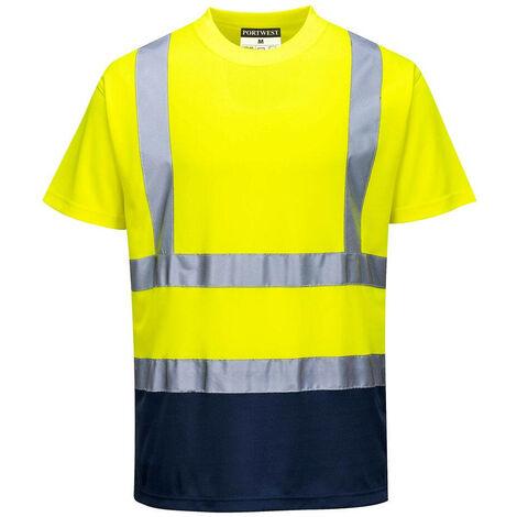 Portwest - T-shirt bicolore HV - S378