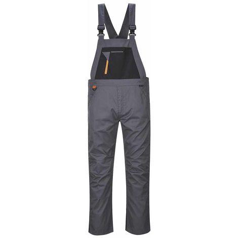 Portwest - Texo Sport Rhine Hardwearing Abrasion Resistant Safety Bib & Brace