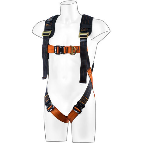 Portwest - Ultra 2 Point Full Body Fall Arrest Harness Red M/L