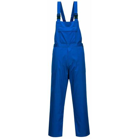 Portwest - Workwear Chemical Resistant Bib Epic Royal Large
