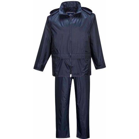 Portwest -Workwear Essentials Waterproof Rainsuit (Jacket & Trouser Suit)