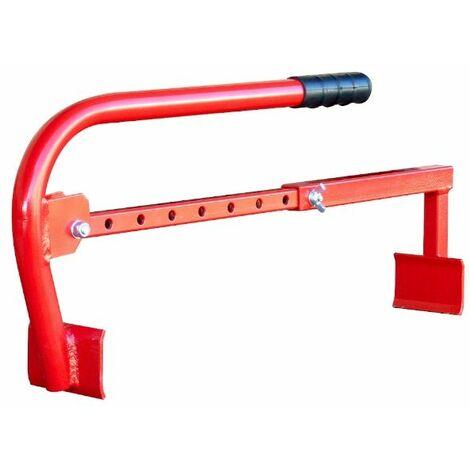 Pose dalles 250 à 600 mm