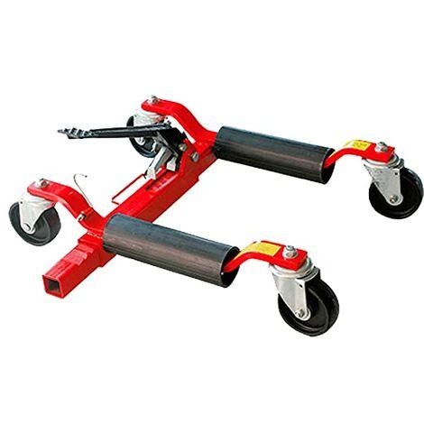 Posicionador De Coches Mecánico Hasta 570 Kg Para Mover Coches Sin Arrancar (P. Ej. Sin Motor O Embrague) - Taller De Coches, Garajes U Hoteles