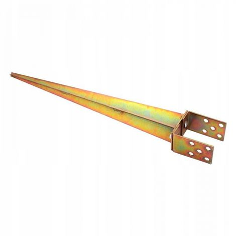 Post base, bracket 0-120 adjustable, hammered
