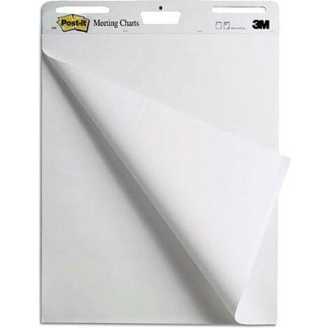 Post-it Carta per Flipchart Meeting Charts 559 Numero di fogli: 30 vuota 63.5 cm x 76.2 cm Bianco