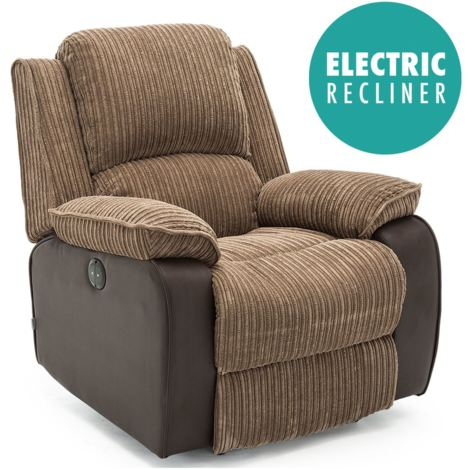 POSTANA AUTOMATIC FABRIC RECLINER ARMCHAIR - different colors available