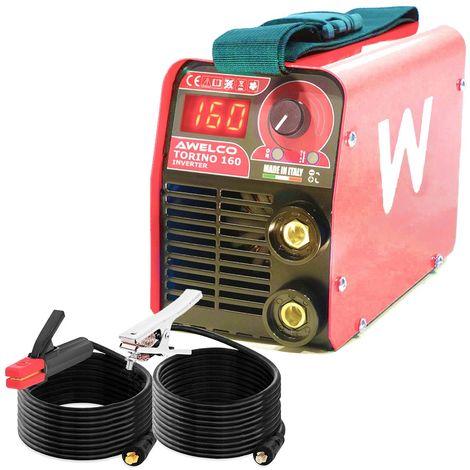 Poste à souder 160 Ampères Portable Tecnoweld Inverter Acier Inox Fonte Electrodes 1.6 à 3.2 mm Mallette