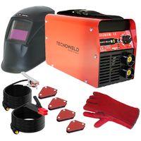 Poste à souder 200A TECNOWELD + Cagoule LCD 9/13 + 4 Aimants soudage + Gants Anti chaleur