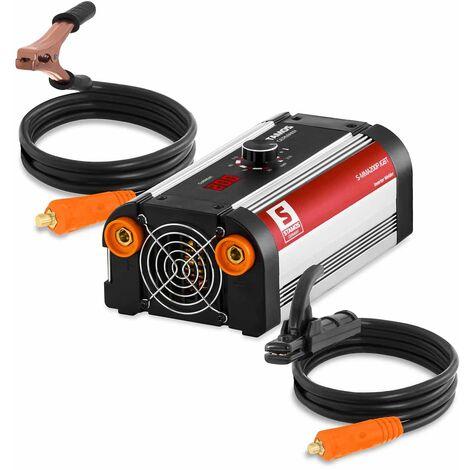 Poste à souder à l'arc électrique Mma Inverter 200 Amp Electrode Enrobée Stamos