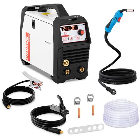 Poste à Souder à L'Arc MIG/MAG MMA TIG FCAW Soudure Électrode Inverter IGBT 200A