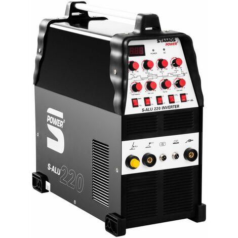 Poste à souder aluminium - 200A - 230V- Temps 2/4 professionnel - Noir