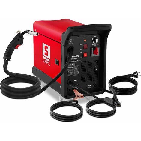 Poste A Souder Combine Multi Procedes Mig Mag Mma Fcaw Gaz Inverter 175 A 230 V