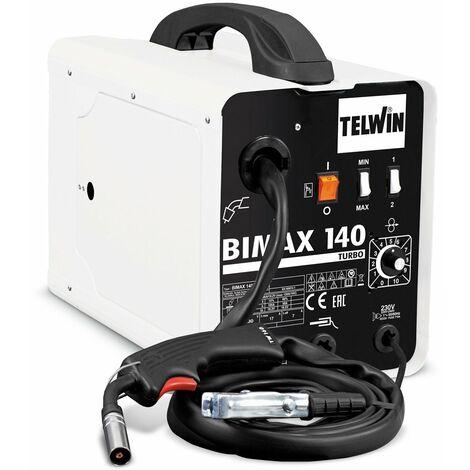 Poste à souder Flux, Mig-Mag Telwin Bimax 140 Turbo