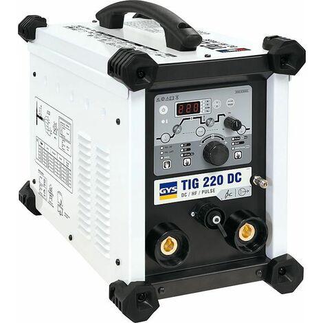 Poste a souder GYS TIG 220 DC HF FV modele refroidissement par ai