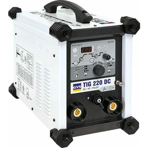 Poste a souder GYS TIG 220 DC HF FV modele refroidissement par air+
