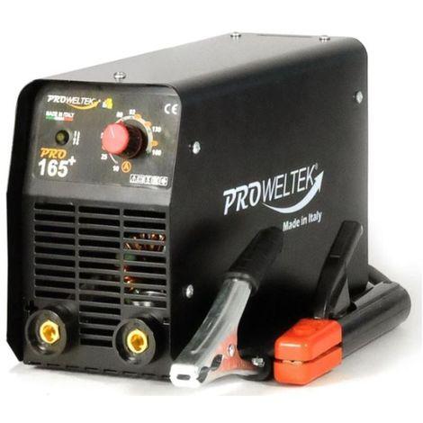 Poste a souder inverter 160 Ampères PRO165+ Acier-fonte-inox Electrode 1.6 à 4 mm MMA Professionnel PROWELTEK