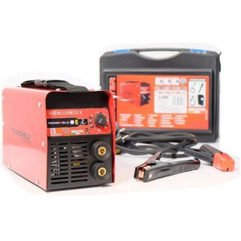 Poste a souder inverter 180 ampères ES 6000 TECNOWELD soude toute baguette de soudure 1.6 à 5 mm acier inox fonte.