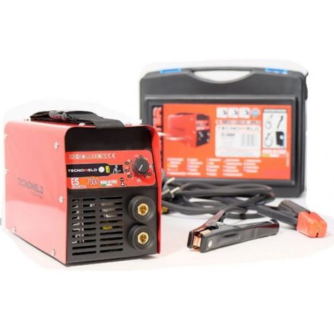 Poste à souder Inverter 200 Ampères TECNOWELD Electrodes soudure 1.6 à 5 mm Acier Inox Fonte Malette Accessoires