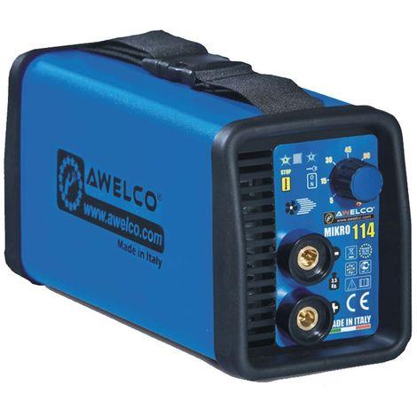 Poste à souder inverter avec kit de soudure 2.7 kW réglable Mikro 164 C/Kit