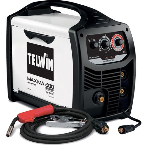 Poste à souder Inverter Mig Mag Telwin Maxima 200 Synergic