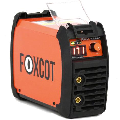 Poste à souder Inverter MMA Foxcot 165c Kit Premium -