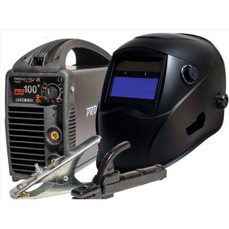 Poste à souder Inverter PRO 100+ Cagoule LCD 9/ 13 - Garanti 3 ans