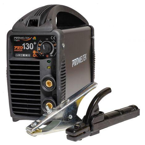 Poste a souder inverter PRO130A MMA Ø1.6-3.2mm Acier-fonte-inox PROWELTEK PRO130+