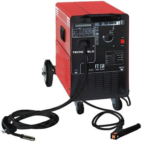 Poste à Souder MIG Professionnel 145A AWELCO MIG GAZ et Sans GAZ Ventilé sur roues