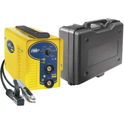 Poste à souder MMA Inverter GYSMI 200P avec valise - 030794 - GYS