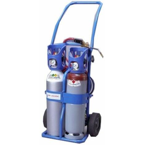 Poste à souder oxyacétyléniques Minitop 43072 équipé - Bleu