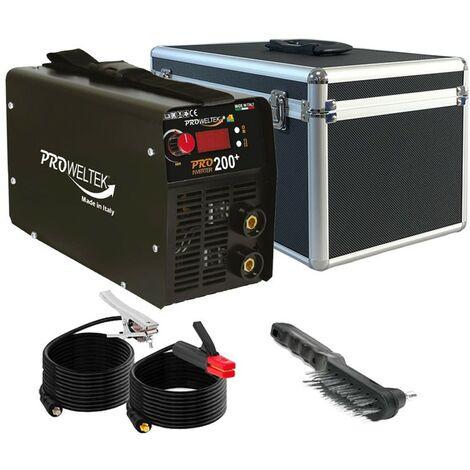 Poste a souder PRO200+ Inverter Numérique soudure à l'arc acier-fonte-inox 1.6 à 5 mm MMA PROWELTEK