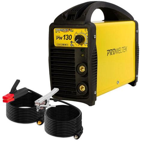Poste à souder PW130 MMA Electrodes 1.6-3.2mm Acier-fonte-inox PROWELTEK