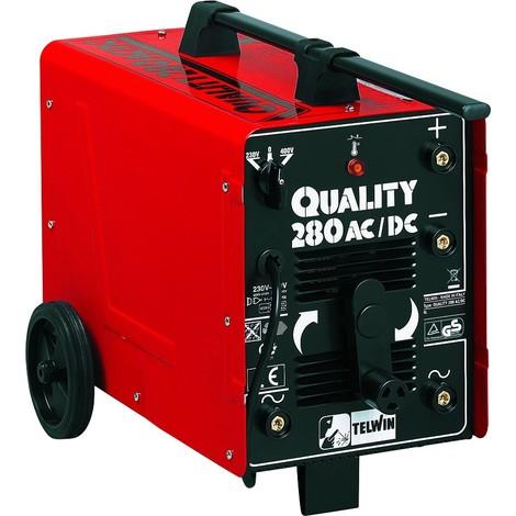 Poste à souder QUALITY 280 230 Volts 400 Volts 1 phase TELWIN - S05150