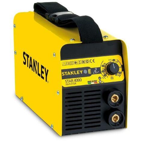 STANLEY Poste a souder inverter Star4000 160A avec cagoule de soudure LCD automatique 9/13 + lot de 5 électrodes