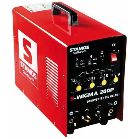 Poste à souder TIG - 200A - 230V - Puls professionnel