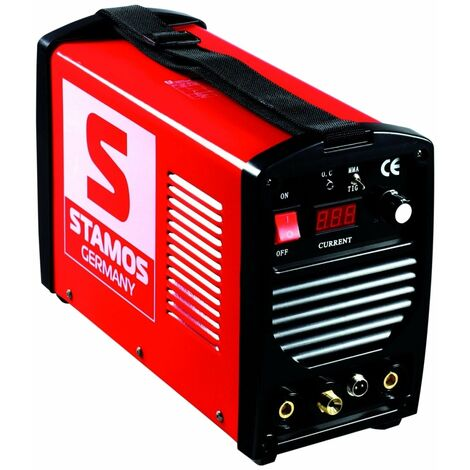 Poste à souder TIG - 250A - 230V - portatif professionnel - Jaune