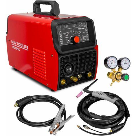 Poste à souder TIG AC/DC pulse 200 A + accessoires MW-Tools TIG205PAC