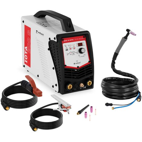 Poste À Souder Tig Cc Mma Poste À L'Arc 200 A Lift-Arc Hot-Start Pulse Inverter