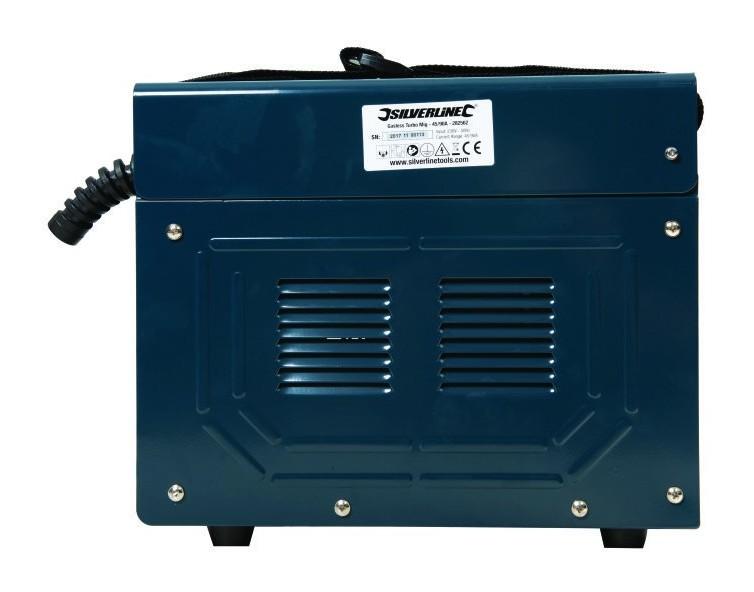 Silverline 282562 Poste /à Souder Turbo MIG sans Gaz 90 A