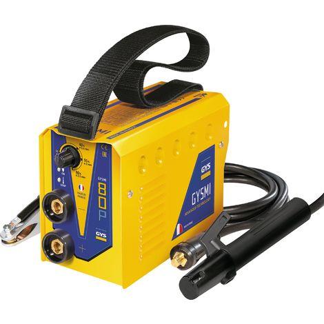 Poste à soudure GYSMI 80P avec valisette et accessoires Gys - Intensité 10 à 80 A