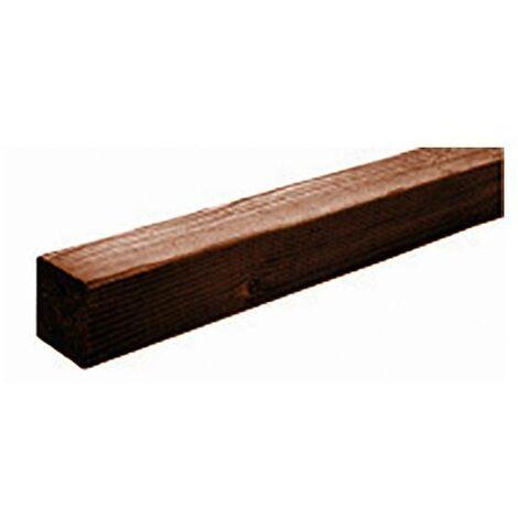 Poste de madera cuadrado 7 x 7 x 180cm