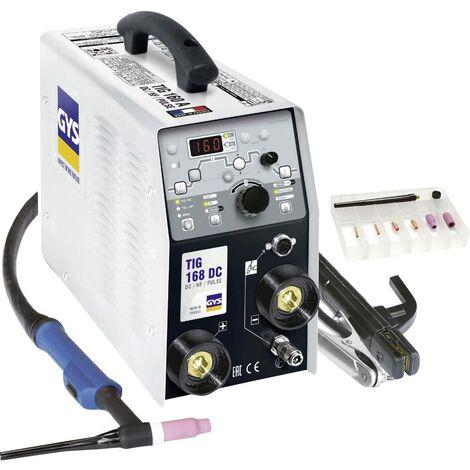 Poste de soudage Inverter avec accessoires GYS TIG 168 011410 10 - 160 A 1 pc(s)