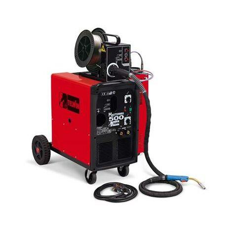 Poste de soudage mono et triphasé à fil MIG-MAG/FLUX/BRASAGE 25 Kw avec dévidoir de fil amovible, utilisation en milieu industriel