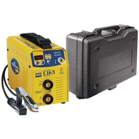 POSTE DE SOUDURE GYSMI E163 - Avec valise et accessoires