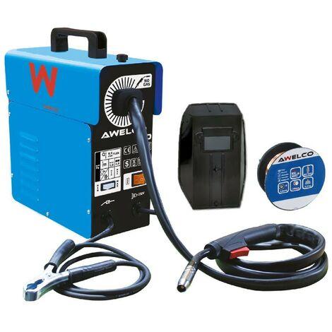 Poste de soudure MIG Fil Sans gaz 130 Ampères AUTOMIG 130 AWELCO Régulation Automatique du fil MIG NO GAS -